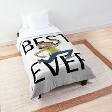 Best Morty Ever Morty Smith Rick and Morty Comforter