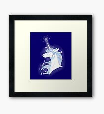 The Last Unicorn inspired drawing Framed Print