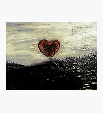 Follow Your Heart Photographic Print