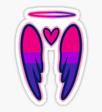 Bisexual Angel Sticker
