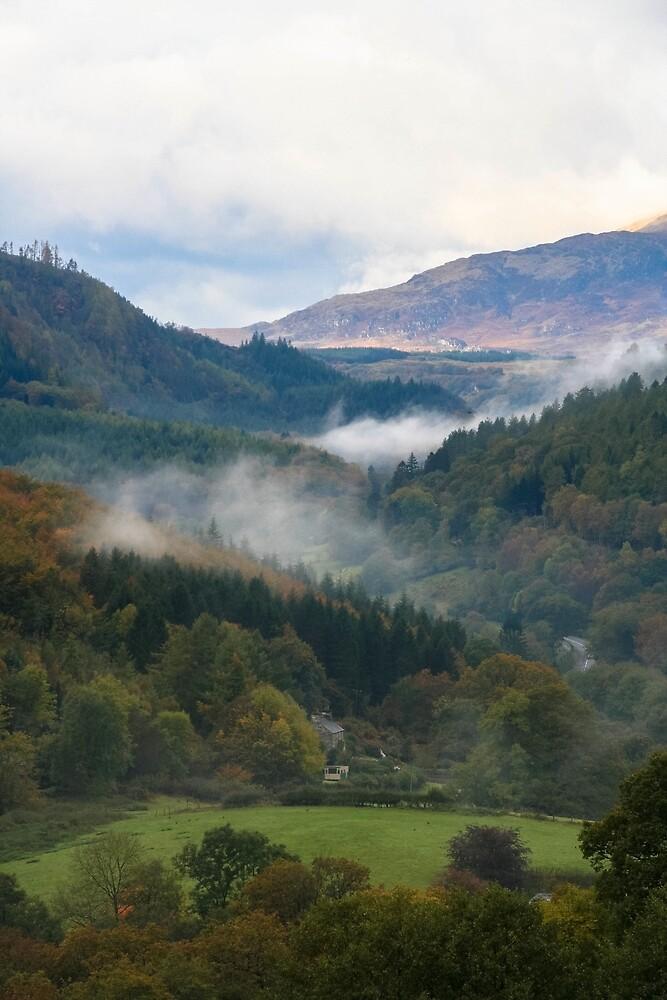 Towards Snowdonia, Wales by Morag Anderson
