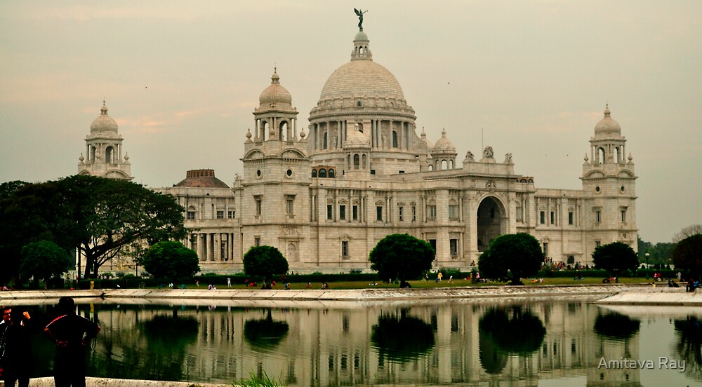 Victoria Memorial Hall by Amitava Ray