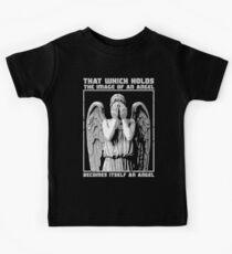 The image of an angel. Kids Tee