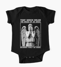 The image of an angel. One Piece - Short Sleeve