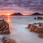 Shoal Bay Beach Sunrise by Andi Surjanto