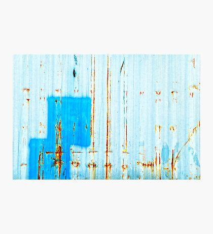 Azzurro - Blue Photographic Print