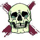 Skull n' Brush Strokes by skullbrain