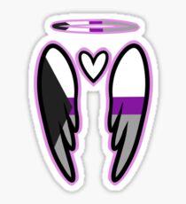 Demisexual Angel Sticker
