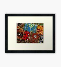 Fair Trade Mish Mash Framed Print