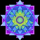 Inner Light Mandala by mimulux