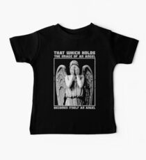 The image of an angel. (Bloody Version) Baby Tee
