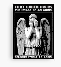 The image of an angel. (Bloody Version) Canvas Print