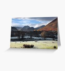 Autumn InThe Newlands Valley Greeting Card