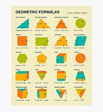 GEOMETRIC FORMULAS Photographic Print