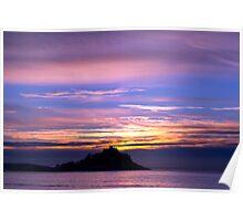 st. michaels sunrise 1 Poster