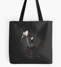 Jack (the Ripper) in a Box Tote Bag