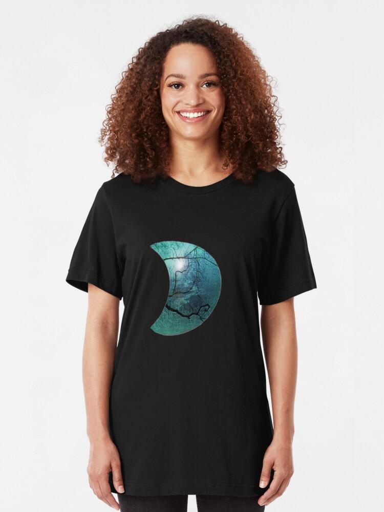 Alternate view of Blue Danube  Slim Fit T-Shirt