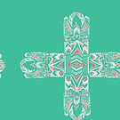 TribalCross turquoise by TikiS