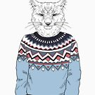 «Lynx man fashion animals» de jurisnik