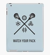 Lacrosse Teen Wolf iPad Case/Skin