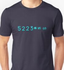 5223 and Proof Marks: Blade Runner Blaster Serial Number T-Shirt