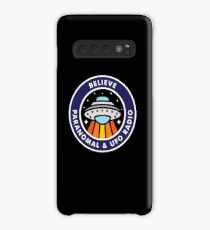 Believe Podcast Shirt Case/Skin for Samsung Galaxy