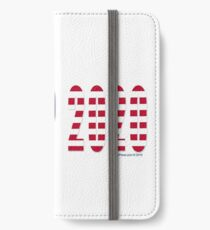 Trump 2020 Flag iPhone Wallet/Case/Skin