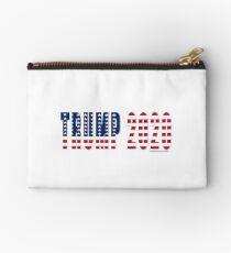 Trump 2020 Flag Zipper Pouch