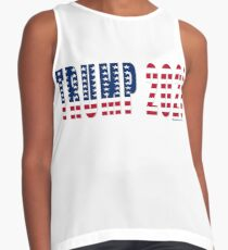 Trump 2020 Flag Sleeveless Top