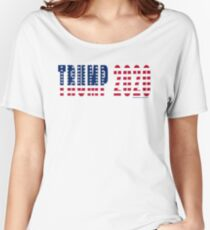 Trump 2020 Flag Relaxed Fit T-Shirt