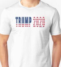 Trump 2020 Flag Slim Fit T-Shirt