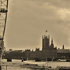Old/New London Town by Debbie Drew