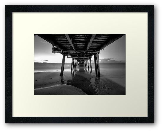 Henley beach jetty, Adelaide South Australia by Joseph Brown