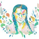 Greta Thunberg by FlippingZombies