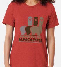 Bereiten Sie sich auf das Alpacalypse vor Vintage T-Shirt