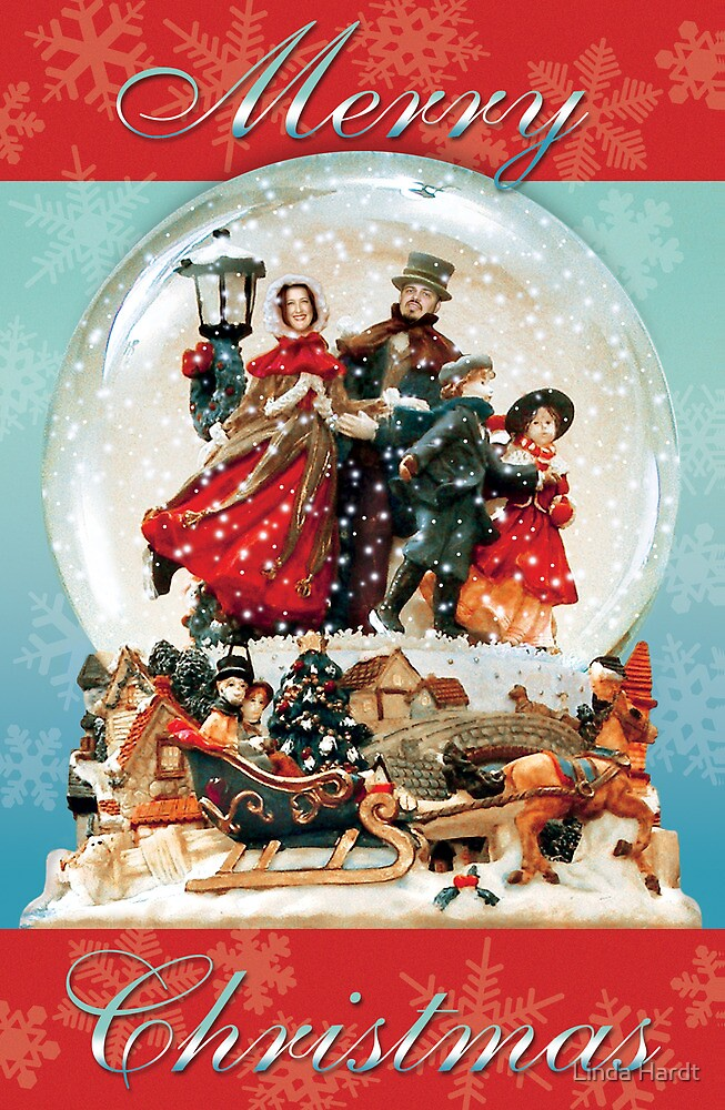 Merry Christmas from Our Little Corner of the Globe by Linda Hardt