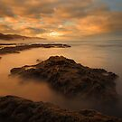 Sunrise at Number 16 beach by Jim Worrall