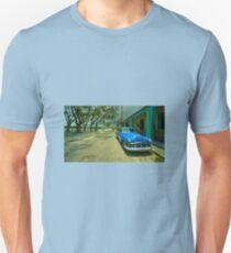 Vintage Plymouth at Cojimar  Unisex T-Shirt