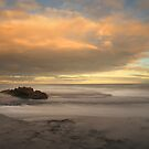 Morning Glow at Number 16 beach by Jim Worrall