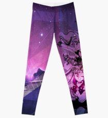 Sailor Scouts Purple Galaxy - Sailor Moon Leggings