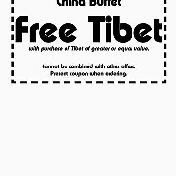 Free Tibet by themonkeylab