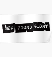 New Found Glory Logo Poster