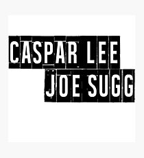 Joe Sugg, Caspar Lee / ThatcherJoe, Dicasp Photographic Print