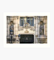 Madrid Sculptures Art Print