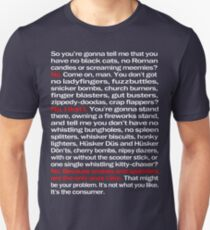 Fireworks - White Version Unisex T-Shirt