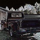 Dodge In Neon by starlitewonder