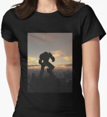 Future City - Robot Sentinel at Sunset T-Shirt