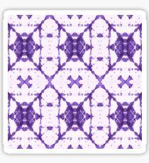 Purple X Cloth Shibori Sticker