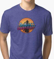 Sunset Sherbert Camiseta de tejido mixto