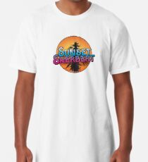 Sunset Sherbert Camiseta larga
